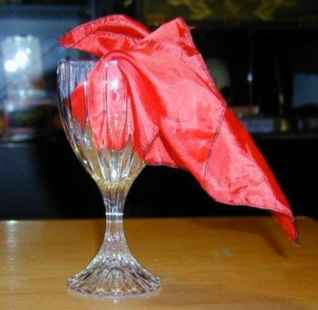 Crystal Mirror Goblet by Mak Magic