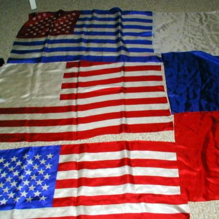 "Mis Made Flag - 21"" x 33"" by P&A Silks"
