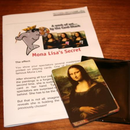 Card-Shark - Mona Lisa's Secret by Card-Shark