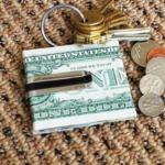 Card to Money Clip by Richard Gerlitz