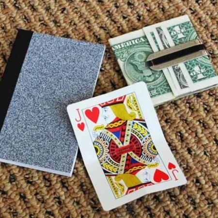 Card to Money Clip by Richard Gerlitz