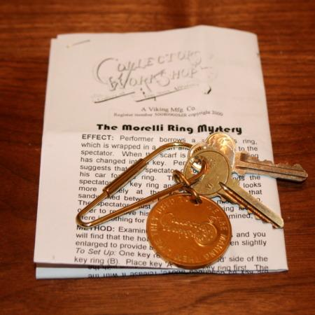 Morelli Ring Mystery by Collectors' Workshop