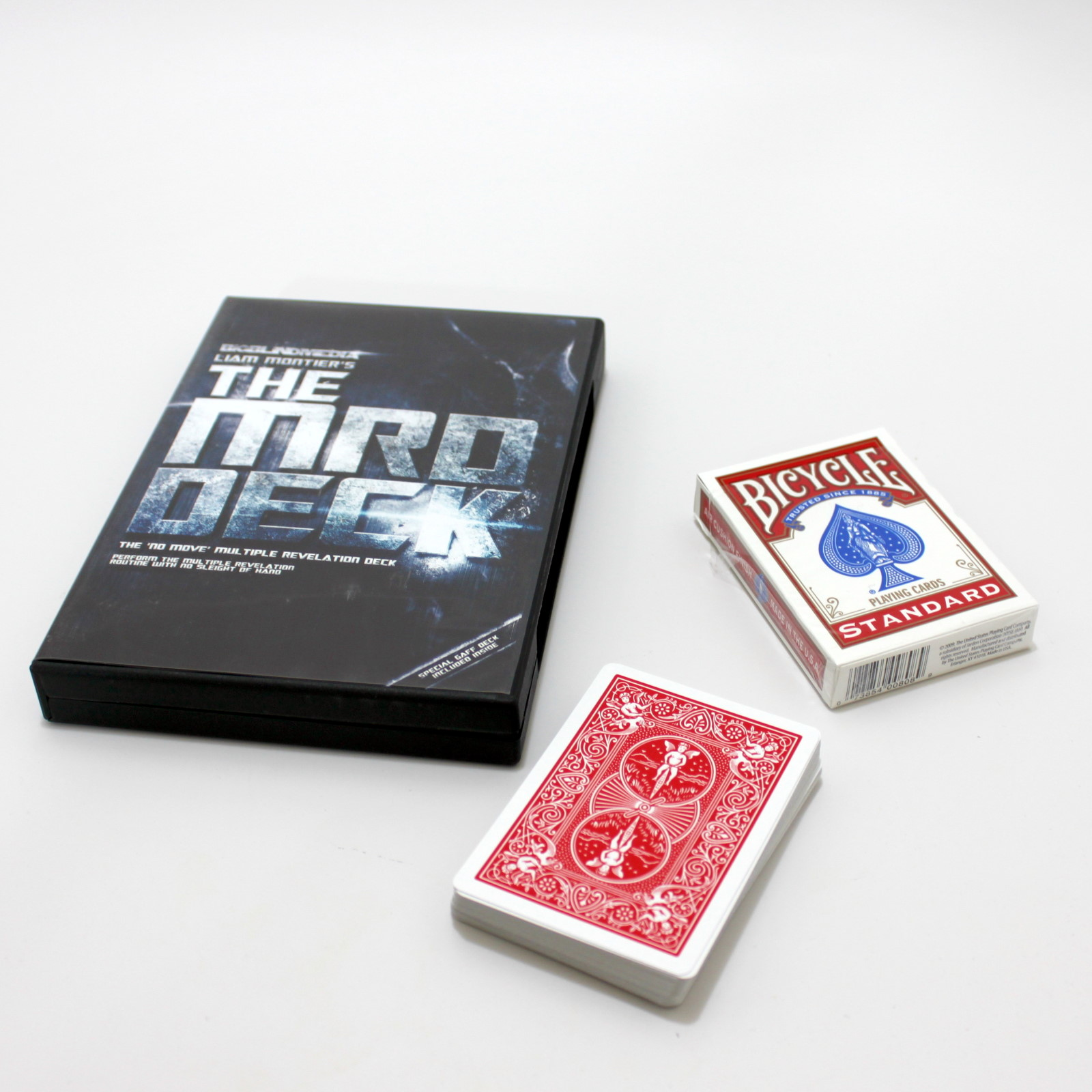 MRD Deck, The (Red) by Liam Montier