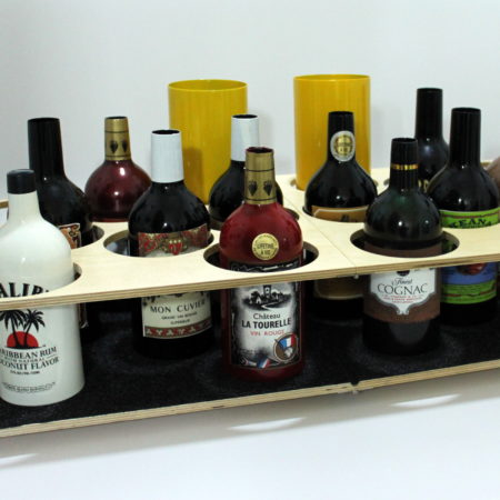 Multiplying Bottle Tray by Joe Lefler