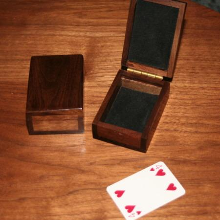 Mysterious Mini Card Boxes by Michael Baker