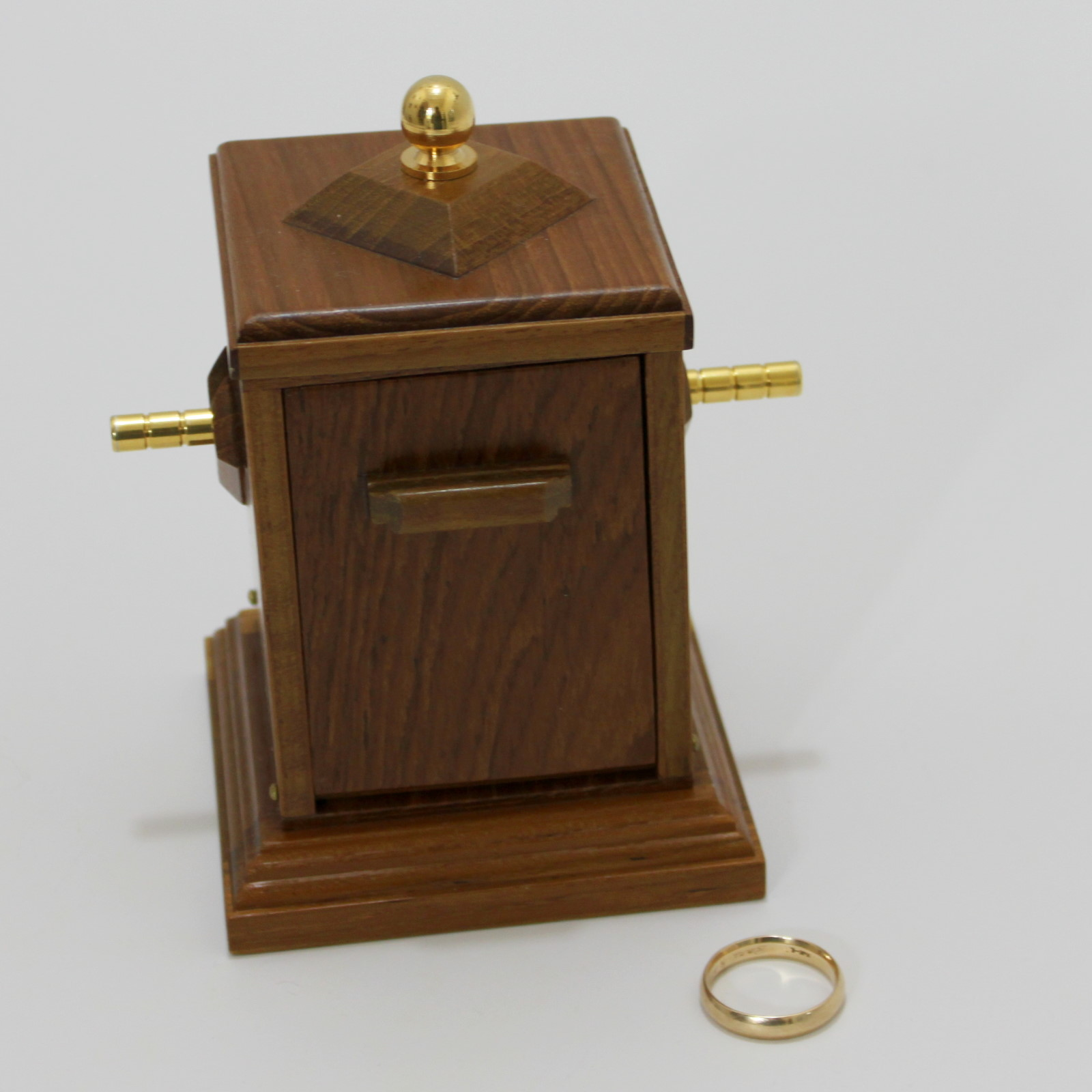 Mysterious Ring Cabinet by Magic Wagon
