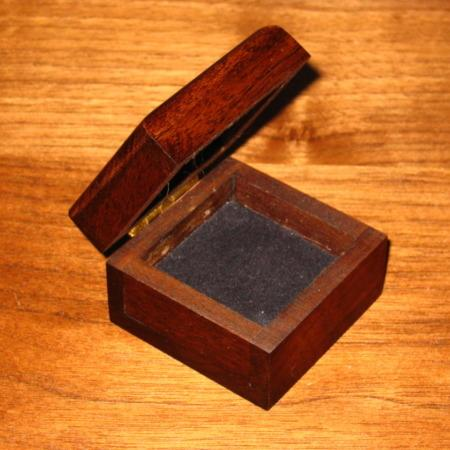 Mysterious Wooden Coin Box by Trickery