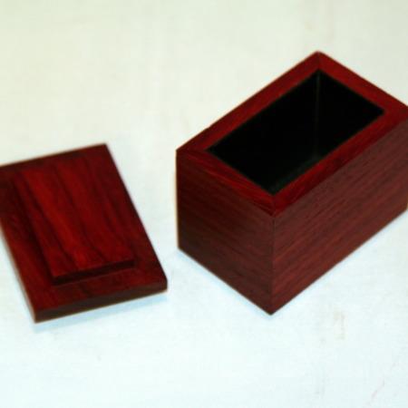 Mystery Box - Exotic Wood - Paduk by John Kennedy