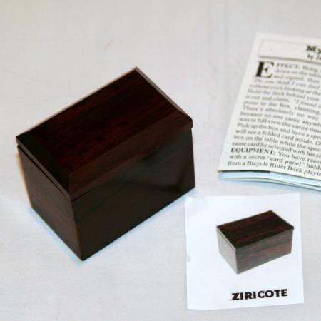 Mystery Box - Exotic Wood - Ziricote by John Kennedy