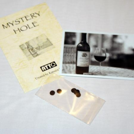 Review by Andy Martin for Mystery Hole by Masuda