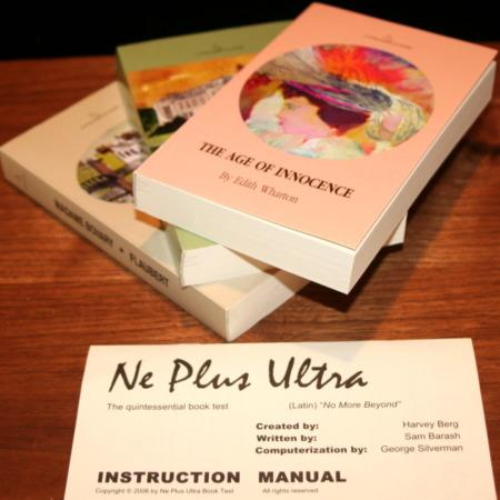 Ne Plus Ultra by Harvey A. Berg