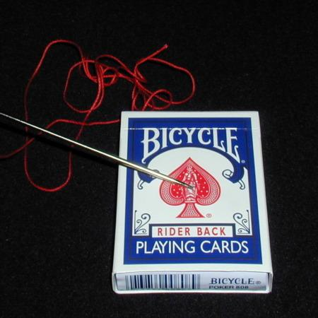 Needle Through Deck by Henry Evans
