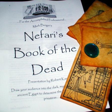 Nefari's Book of the Dead by Mark Burger