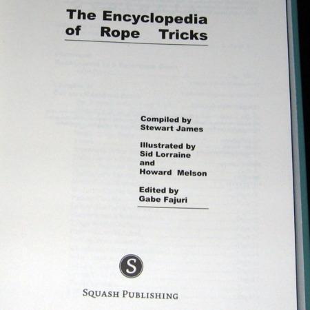 New Encyclopedia of Rope Tricks by Stewart James