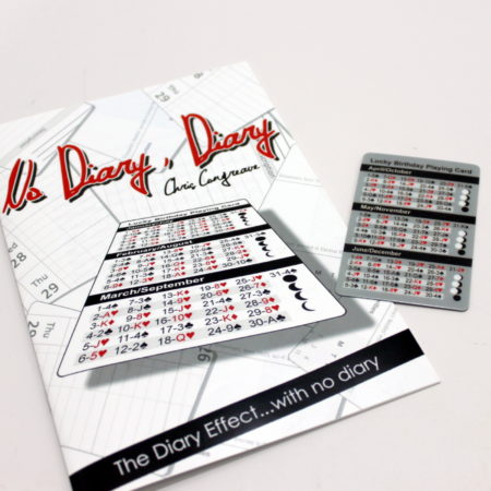 No Diary, Diary by Chris Congreave