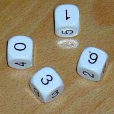 Non-Transitive Dice by Unknown