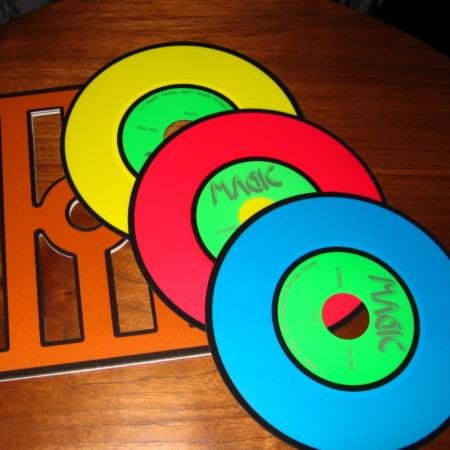 Nu Way Color Changing Records by Ton Onosaka