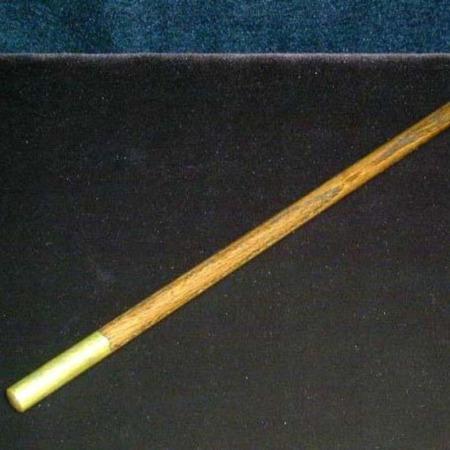 Oak Heirloom Wand (Brass) by Shamrock Magic