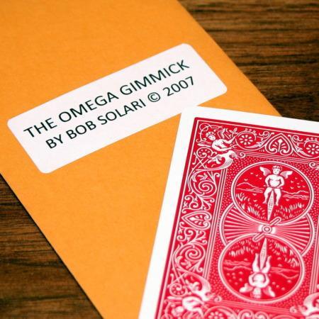 Omega Gimmick by Bob Solari Magic