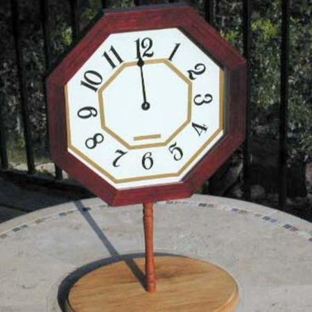 Omega Spirit Clock by Chuck Caputo
