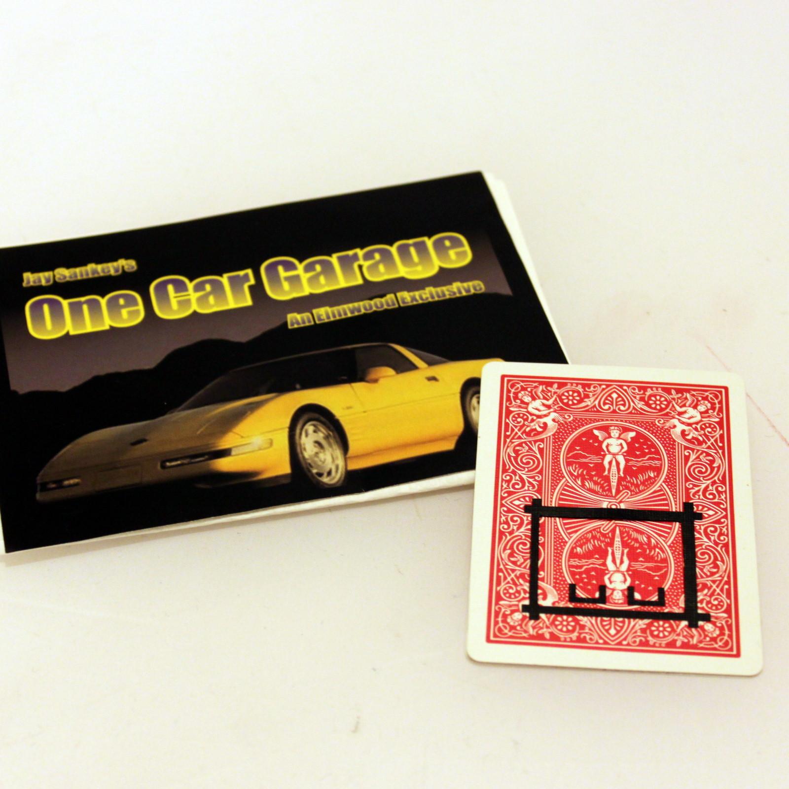 Once Car Garage by Jay Sankey