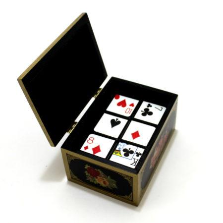Oriental Card Dice by Michael Baker