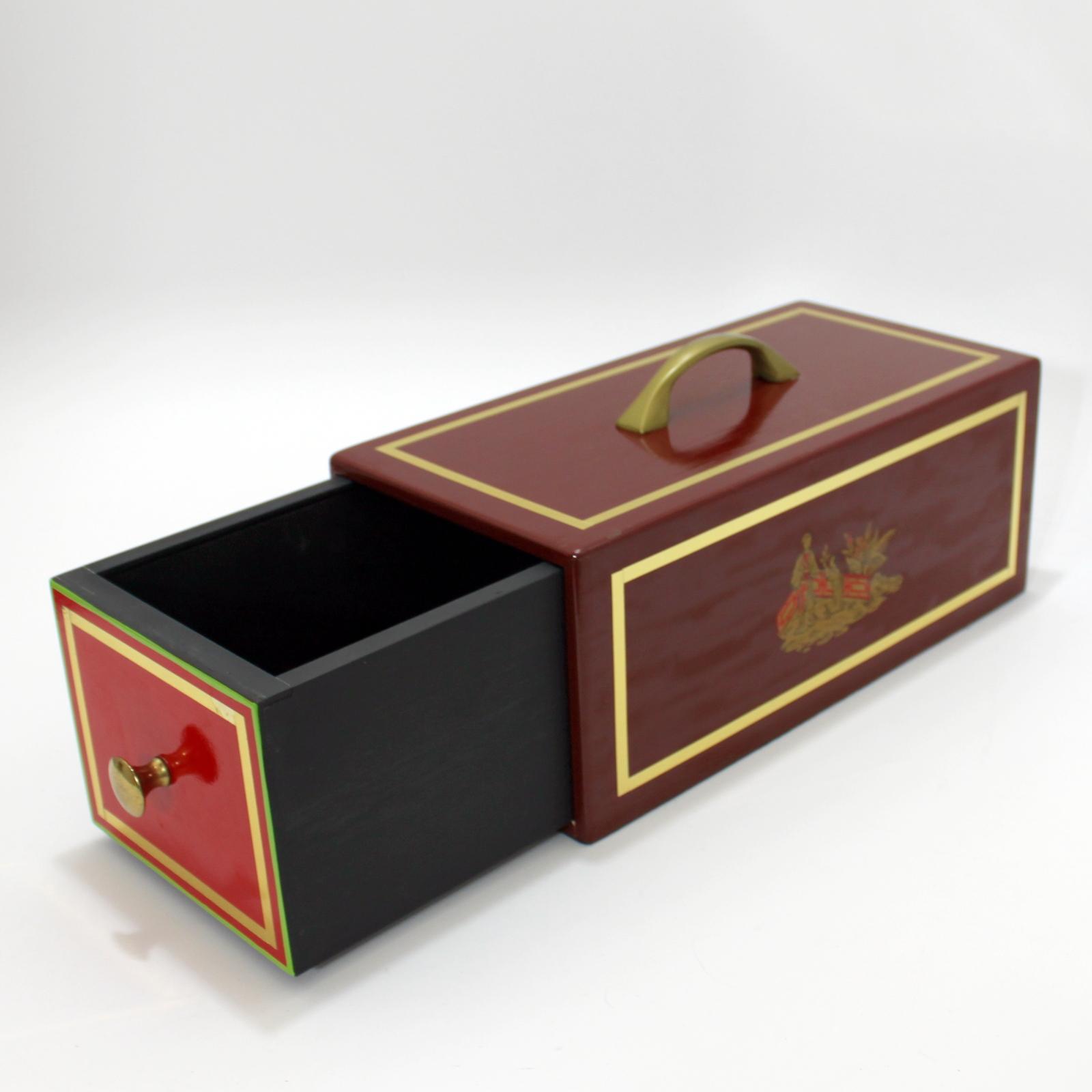 Oriental Drawer Box by Worth Magic