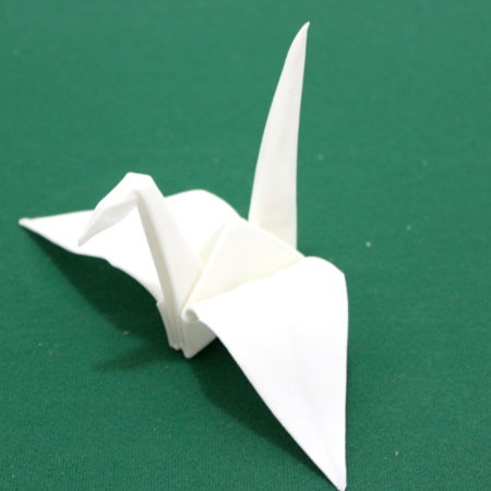Origamagic White Crane by SEO Magic