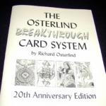 The Osterlind Breakthrough Card System by Richard Osterlind
