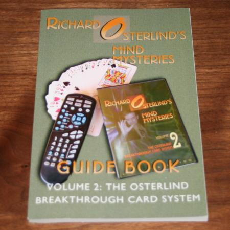Mind Mysteries Guide Book - Vol. 2 by Richard Osterlind