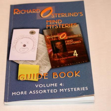 Mind Mysteries Guide Book - Vol. 4 by Richard Osterlind