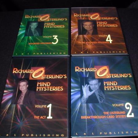 Mind Mysteries: Vols. 1-4 DVD by Richard Osterlind