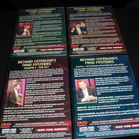 Mind Mysteries: Vols. 1-4 DVD by Richard Osterlind