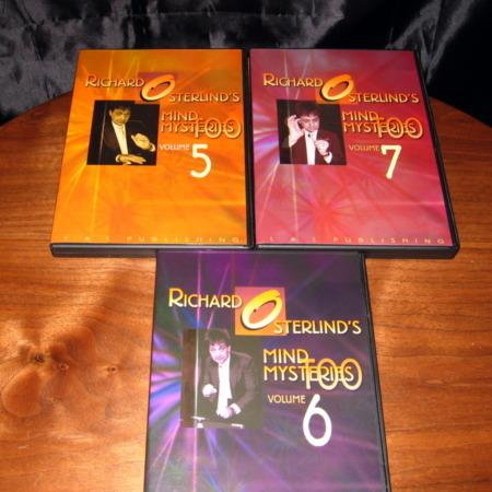 Mind Mysteries Too - Vols. 5-7 DVD by Richard Osterlind