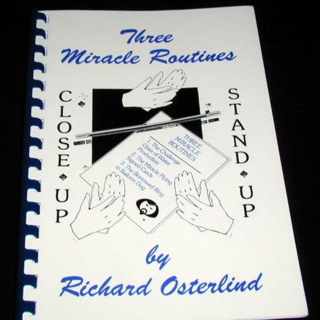 Three Miracle Routines by Richard Osterlind