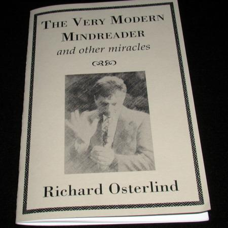 Very Modern Mindreader, the by Richard Osterlind