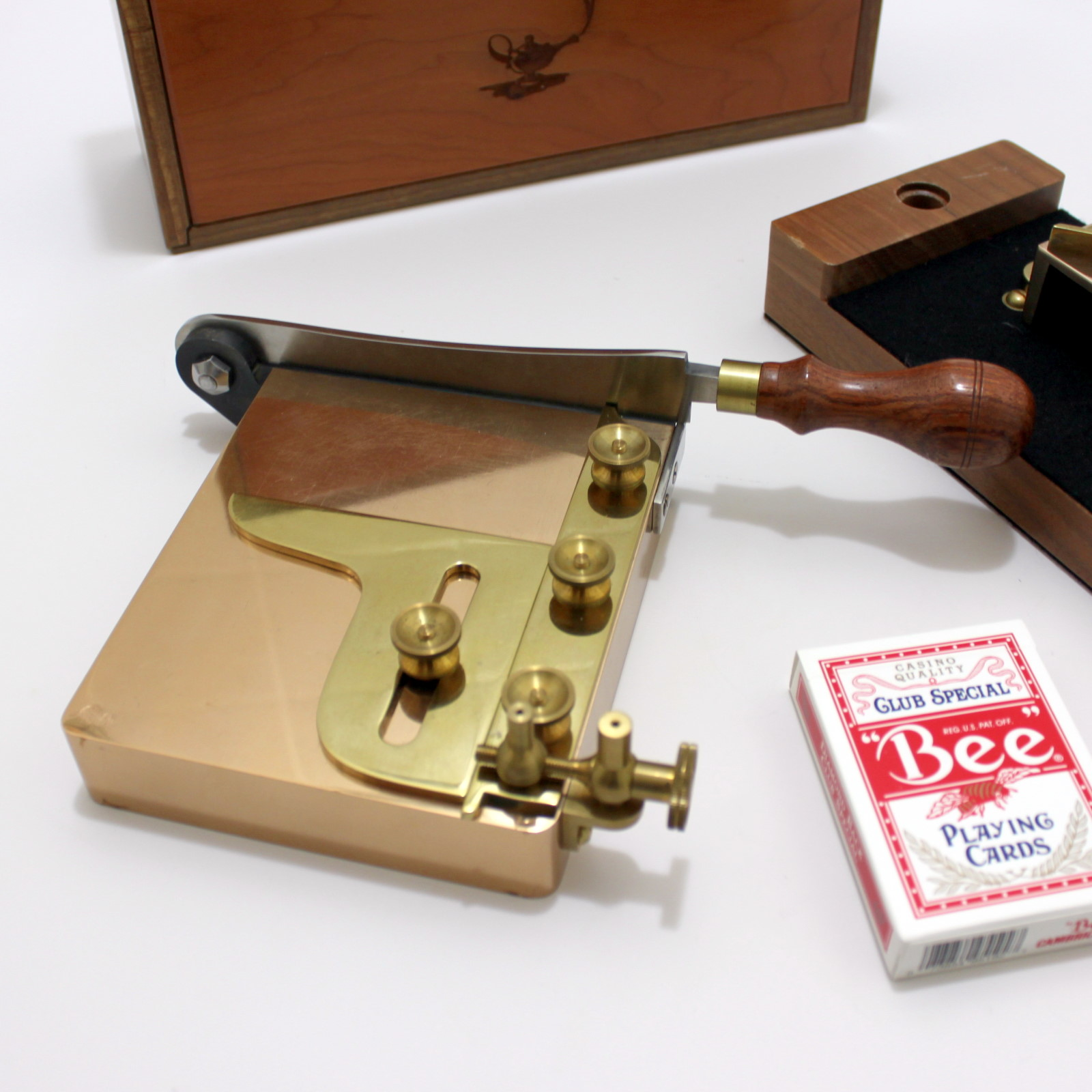 Card Trimmer and Re-Cornering Signature Set by Owen Magic Supreme