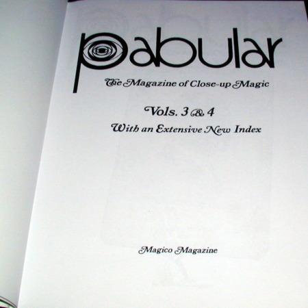 Pabular Vol. 3-4 by Fred Robinson
