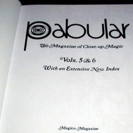 Pabular Vol. 5-6 by Fred Robinson