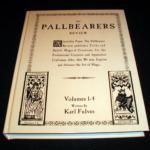 Pallbearers Review: Vols: 1-4 by Karl Fulves