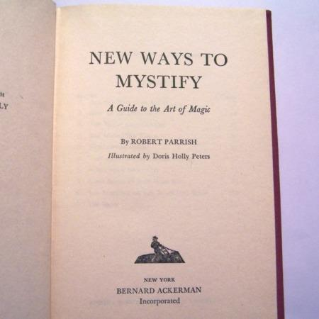 New ways to Mistify by Robert Parrish