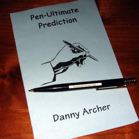 Pen-Ultimate Prediction by Danny Archer