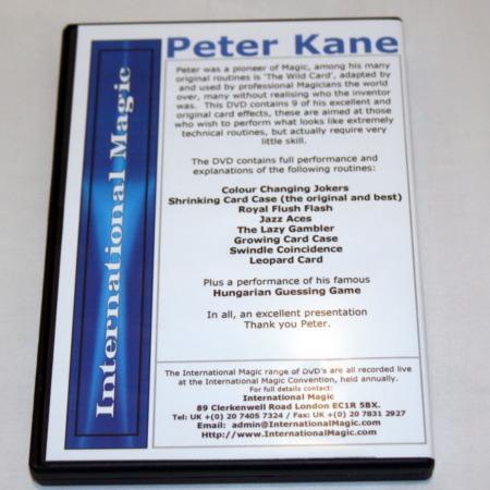 Peter Kane Lecture DVD by Peter Kane
