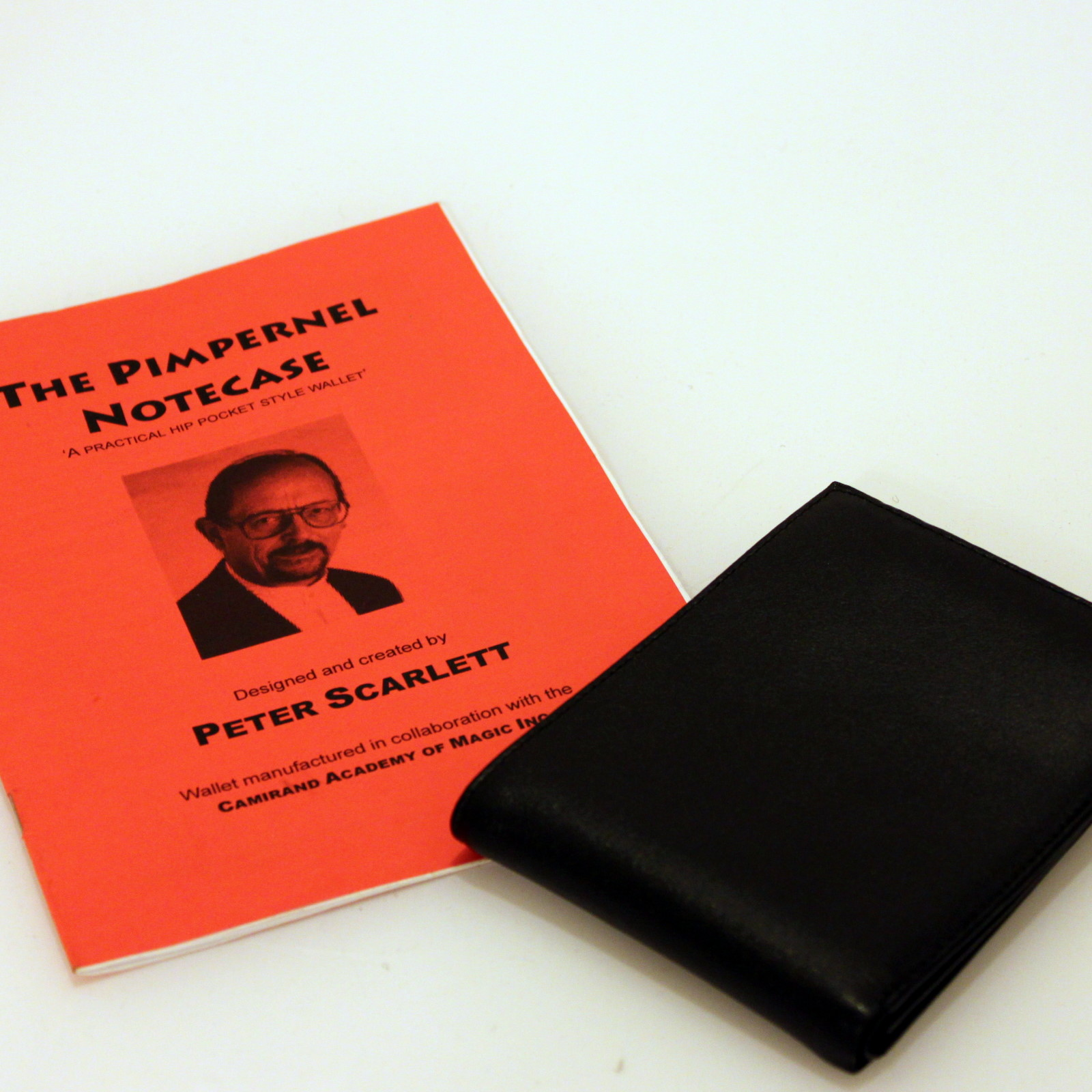 Pimpernel Notecase by Peter Scarlett