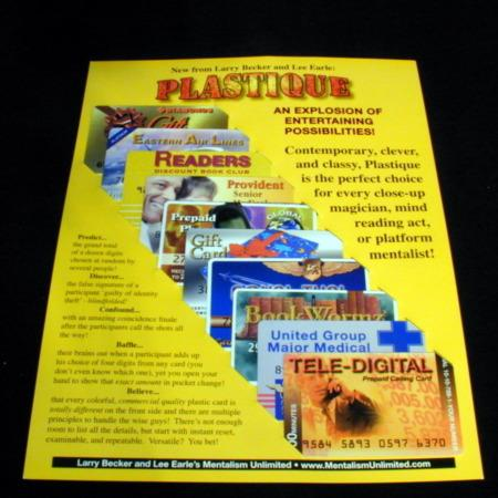 Plastique by Larry Becker, Lee Earle