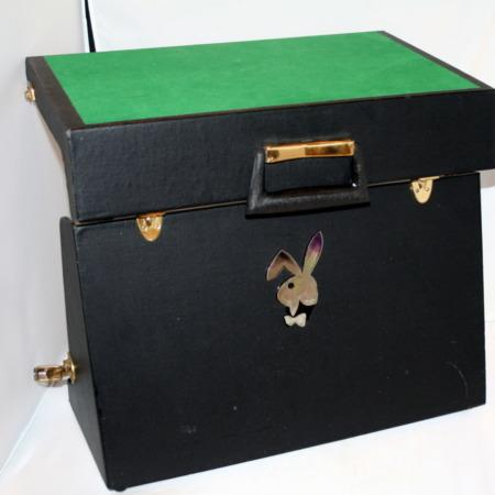 Playboy Bunny Close-up Table + Case by Bob Little