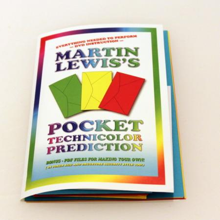 Pocket Technicolor Prediction by Martin Lewis
