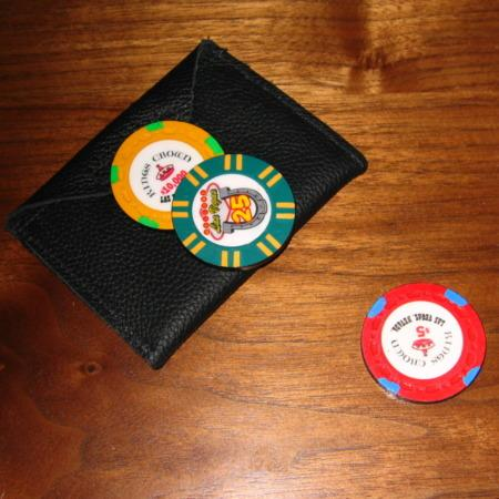 Poker Chip Surprise by Joe Porper