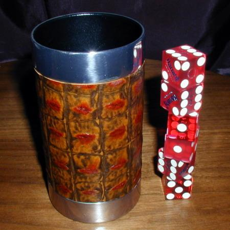 Dice Cup - Metal by Joe Porper