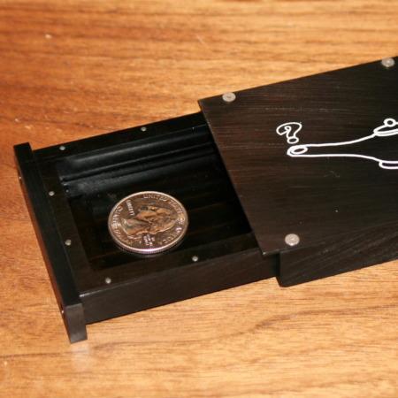 Mystery Coin Box (Genii Box) by Joe Porper